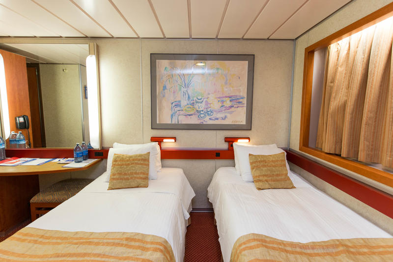 The Interior Cabin on Carnival Inspiration