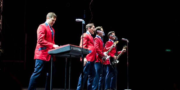"""Jersey Boys"" in Bliss Theater on Norwegian Bliss (Photo: Cruise Critic)"