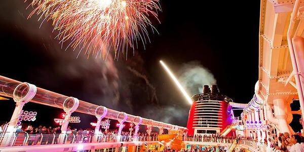Disney Fireworks Display (Photo: Disney Cruises)