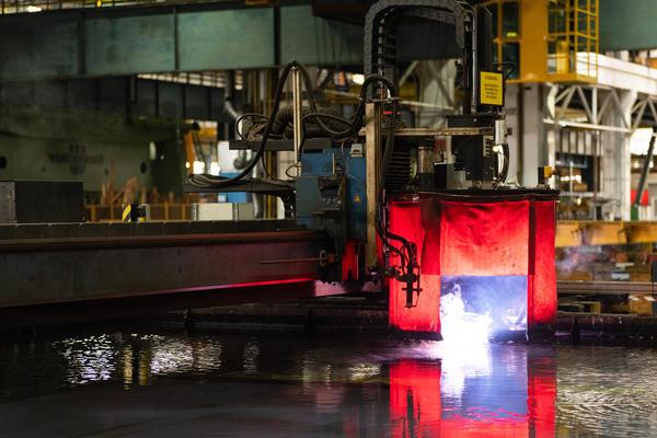 Steel Cut for Holland America Line's Third Pinnacle-Class Cruise Ship (Photo: Holland America)