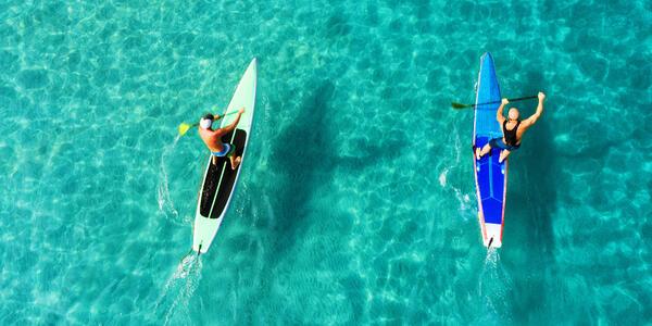 Paddleboarding (Photo: Olesya Kuprina/Shutterstock)