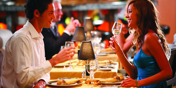 Couple Dining Onboard (Photo: Costa Cruise Line)