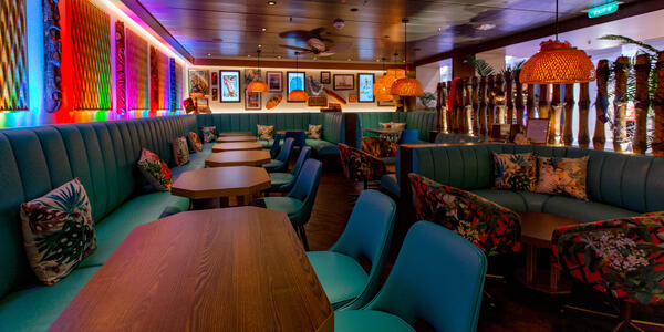 The Bamboo Room on Royal Caribbean (Photo: Cruise Critic)