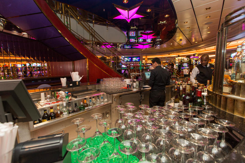 Casino Royale Bar on Liberty of the Seas