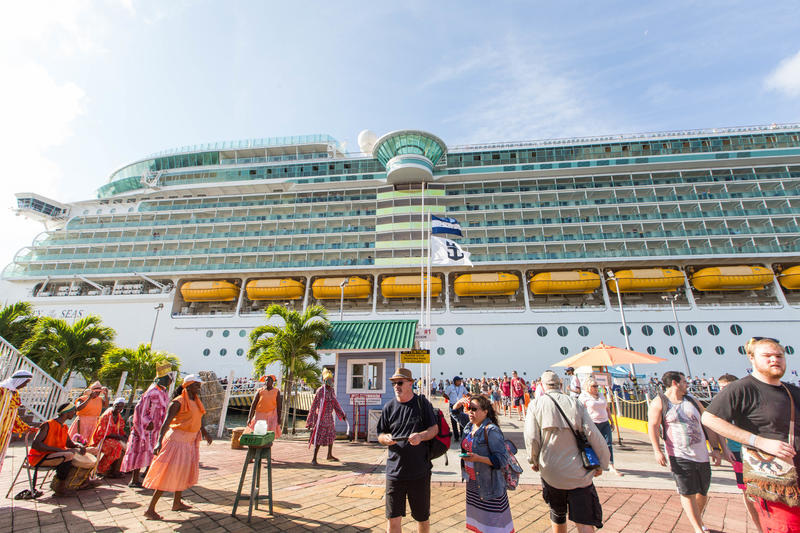 Ship Exterior on Liberty of the Seas