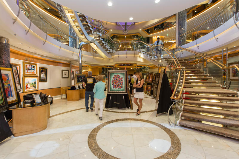 Art Gallery on Liberty of the Seas