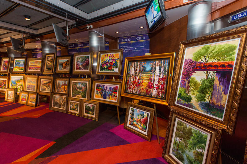 Art Auction on Liberty of the Seas