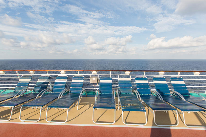The Sun Decks on Liberty of the Seas