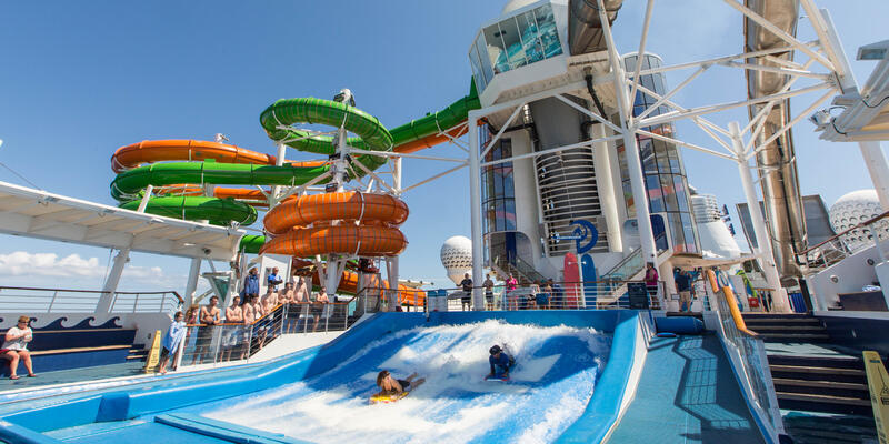 The Perfect Storm on Liberty of the Seas (Photo: Cruise Critic)