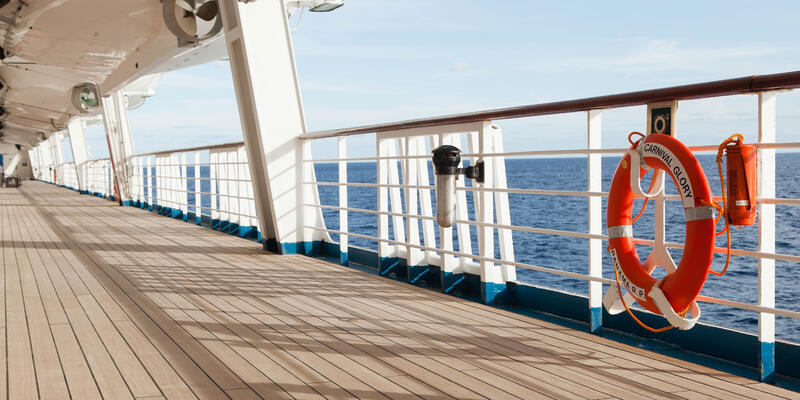 Exterior Deck on Carnival Glory