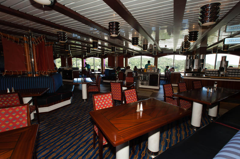 Red Sail Lido Restaurant on Carnival Glory Cruise Ship ...