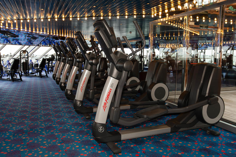 Fitness Center on Carnival Glory Cruise Ship - Cruise Critic