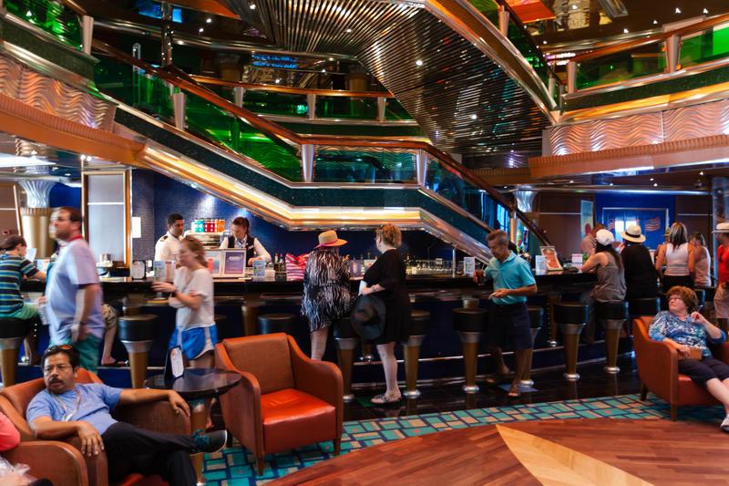 Colors Lobby Bar on Carnival Glory Cruise Ship - Cruise Critic