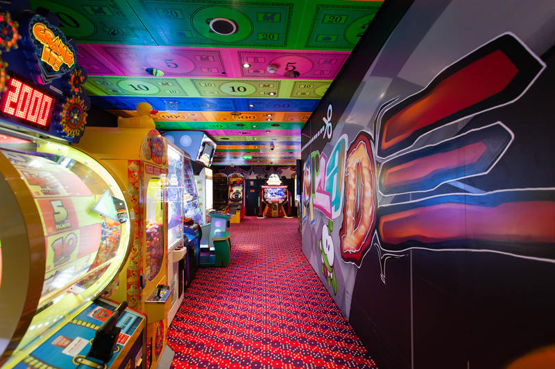 Video Arcade on Carnival Glory Cruise Ship - Cruise Critic