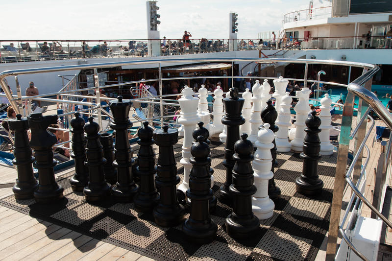 Deck Games on Carnival Glory Cruise Ship - Cruise Critic