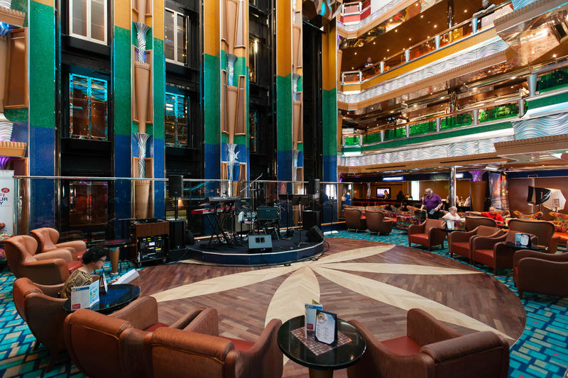 Old Glory Atrium on Carnival Glory Cruise Ship - Cruise Critic
