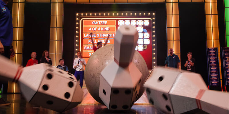 Hasbro, the Game Show on Carnival Glory