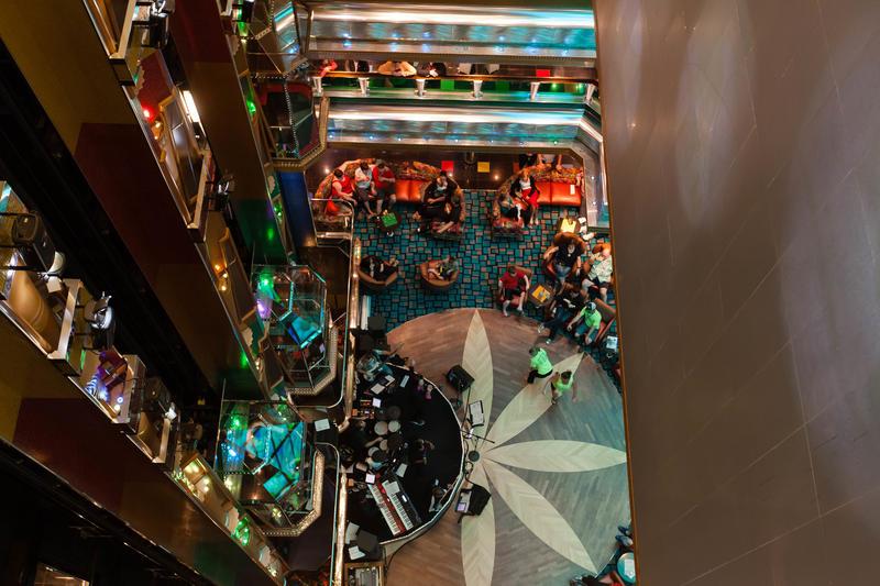 Old Glory Atrium on Carnival Glory Cruise Ship - Cruise Critic