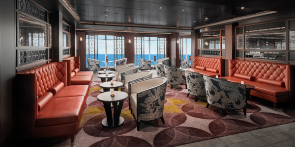 Pinnacle Lounge and Sushi Bar Onboard Norwegian Sky Cruise Ship (Photo: Norwegian Cruise Line)