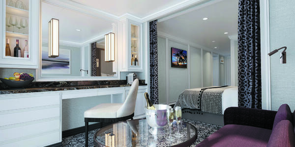 Seven Seas Splendor Deluxe & Veranda Suites (Photo: Regent)
