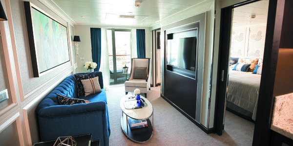 Seven Seas Splendor Penthouse Suite (Photo: Regent)