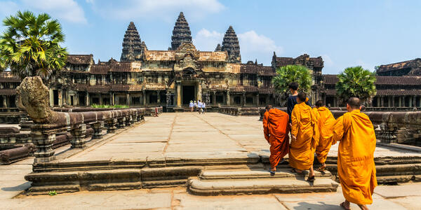 Angkor Wat in Cambodia (Photo: Olena Tur/Shutterstock)