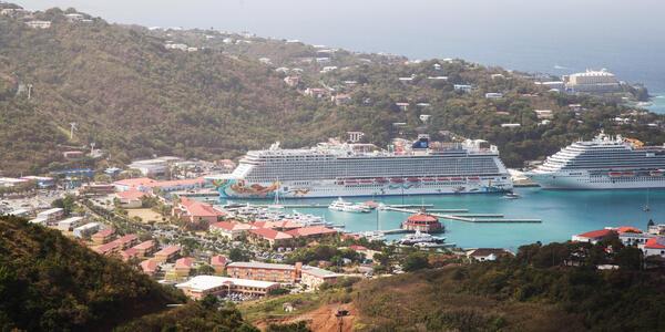 Norwegian Getaway in St. Thomas (Photo: Cruise Critic)