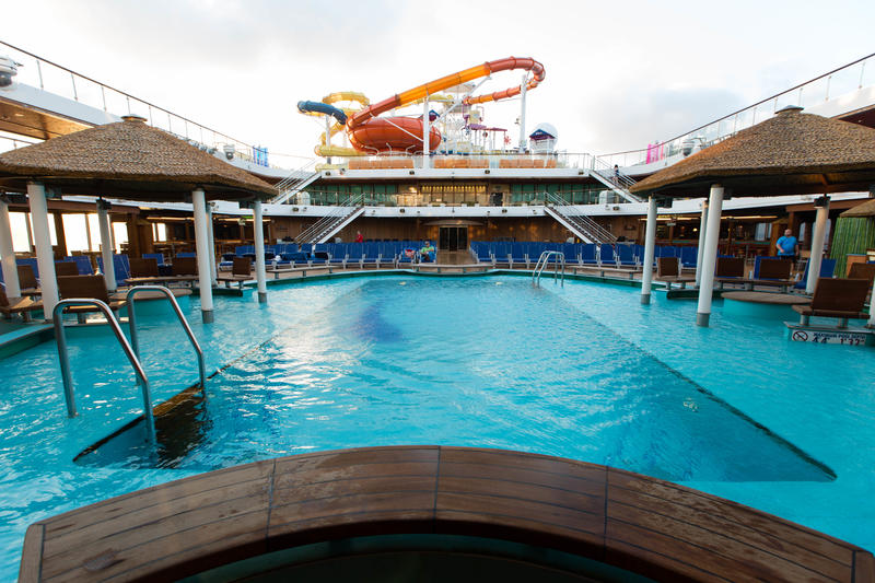 The Beach Pool on Carnival Magic