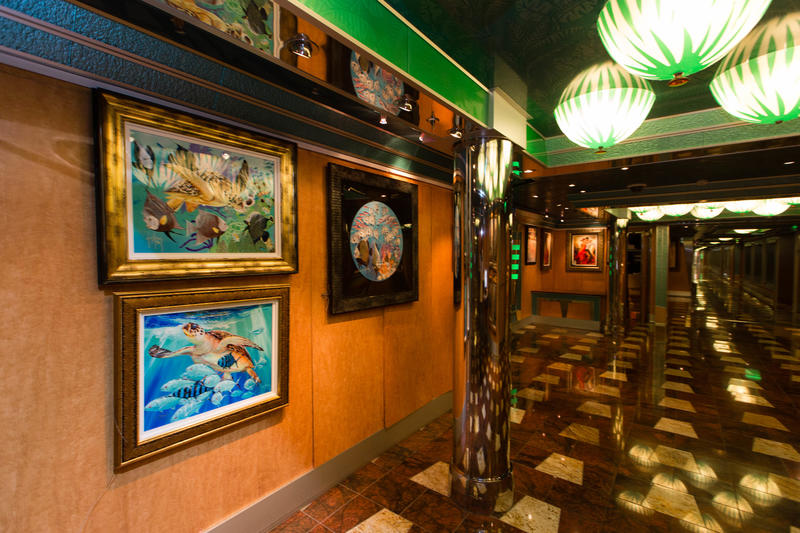 Gallery on the Way on Carnival Magic