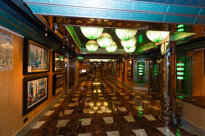 Lower Magical Way Promenade on Carnival Magic