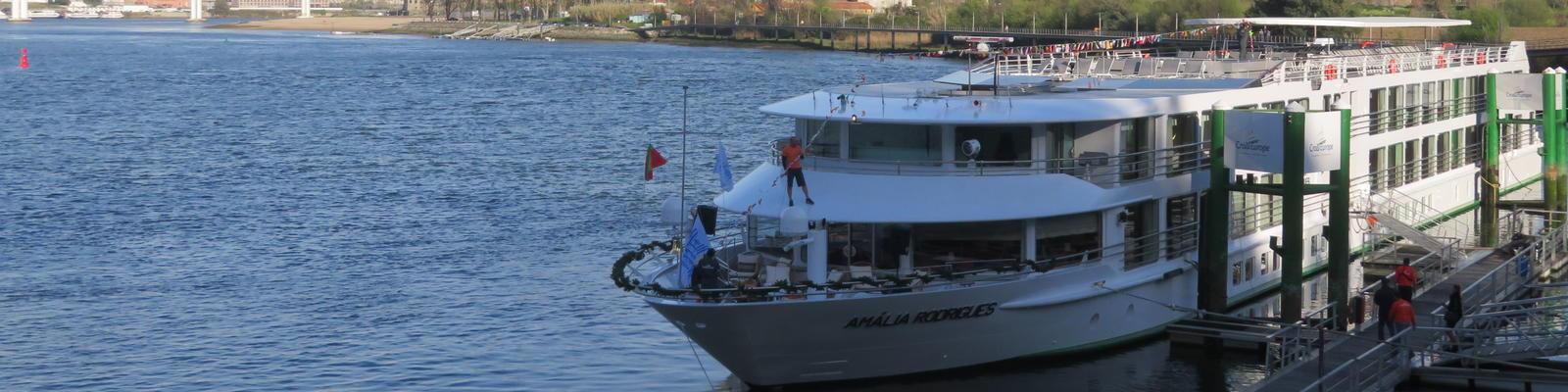 CroisiEurope Christens Amalia Rodrigues River Cruise Ship on the Douro