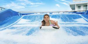 Royal Caribbean's Flowrider Surf Simulator (Photo: Royal Caribbean International)