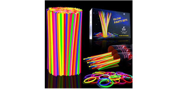 Glow Sticks (Photo: Amazon)