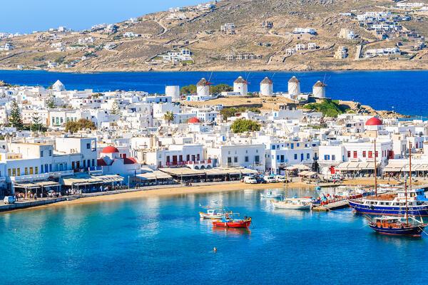 Mykonos, Greece (Photo: Pawel Kazmierczak/Shutterstock)