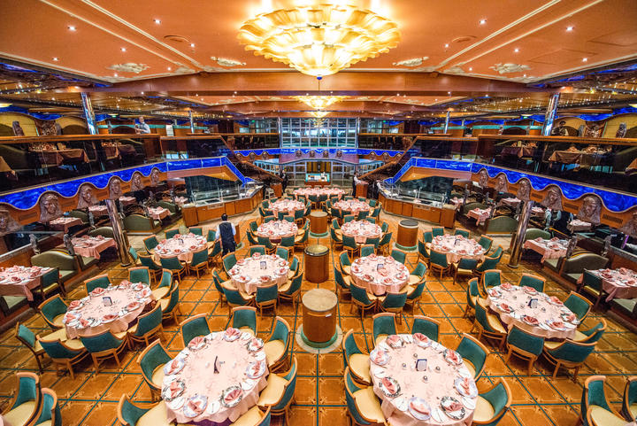 Pacific Dining Room On Carnival Victory Cruise Ship
