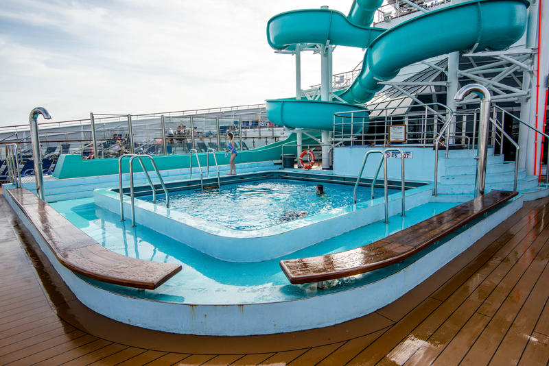 King Of The Seas Pool On Carnival Victory Cruise Ship
