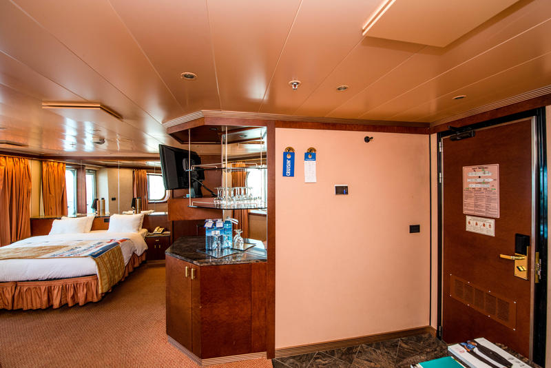 Junior Suite On Carnival Victory Cruise Ship
