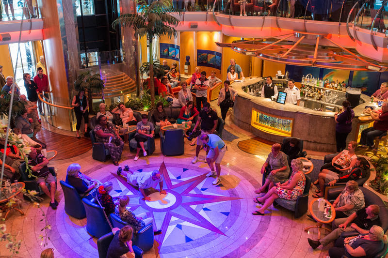 World's Sexiest Man Contest on Radiance of the Seas