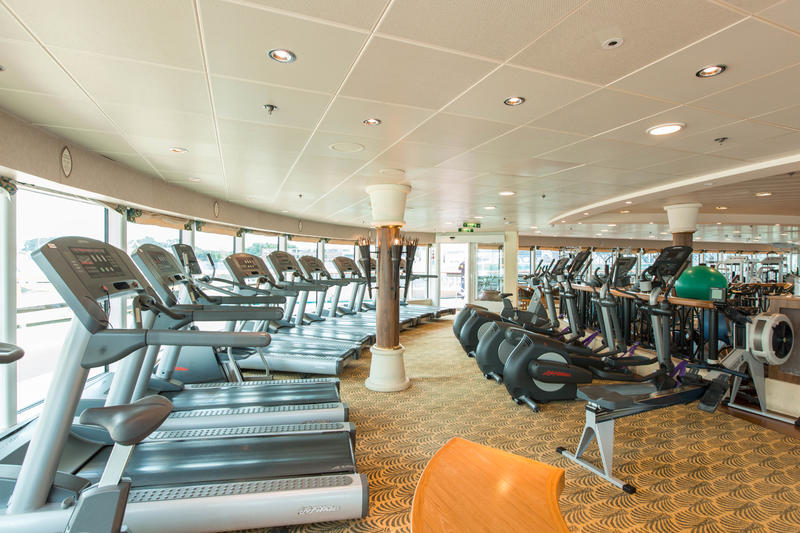 Fitness Center on Radiance of the Seas