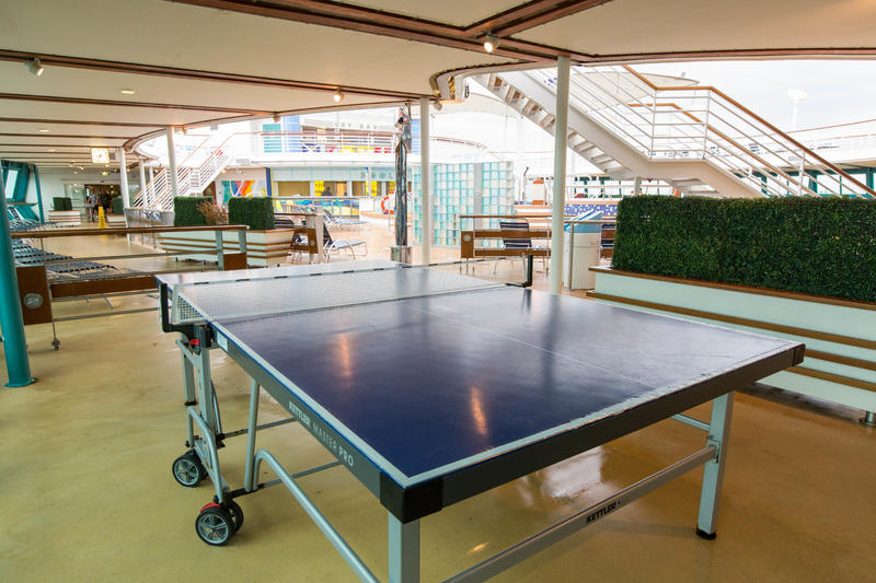Table Tennis on Radiance of the Seas