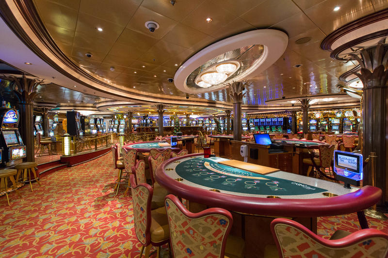Casino Royale on Radiance of the Seas