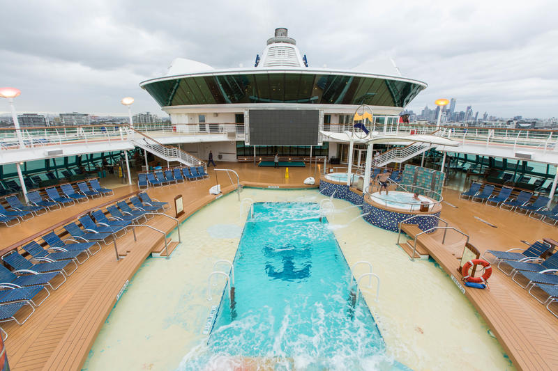 The Main Pool on Radiance of the Seas