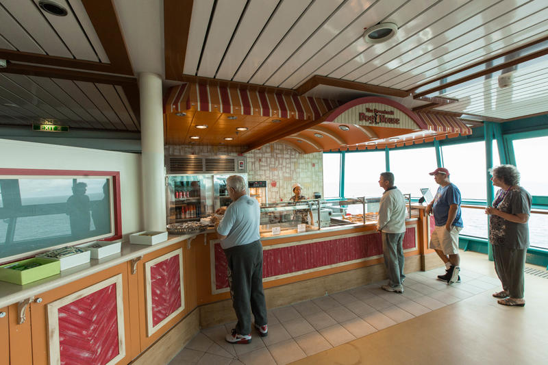 Boardwalk Dog House on Radiance of the Seas