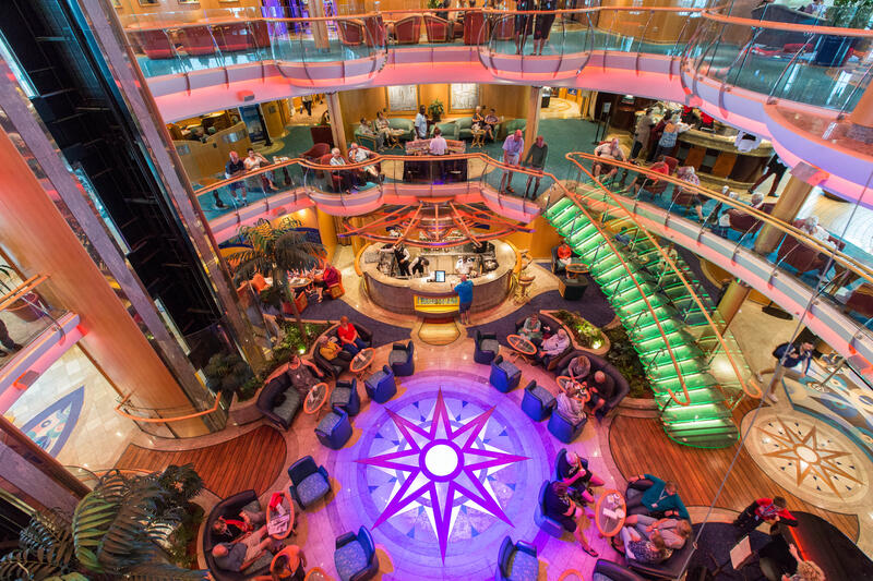Centrum Atrium on Radiance of the Seas