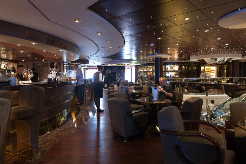 Caffe Italia on MSC Divina