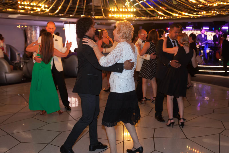 Dance with the Officers on MSC Divina