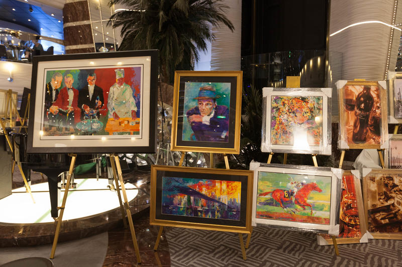 Art Auction on MSC Divina