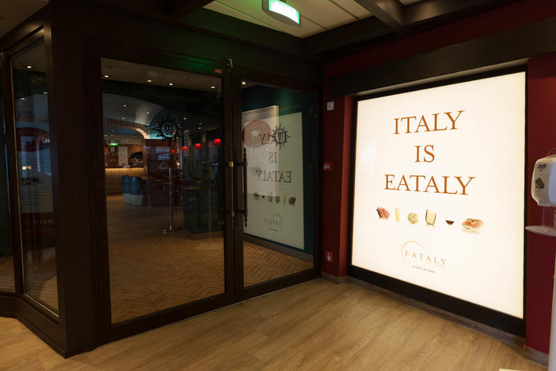 Eataly on MSC Divina