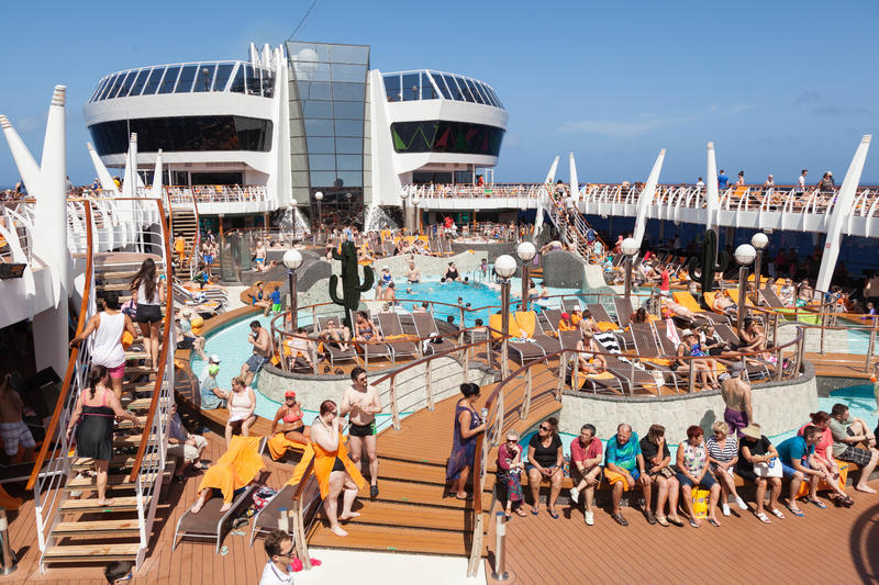 The Aqua Park on MSC Divina