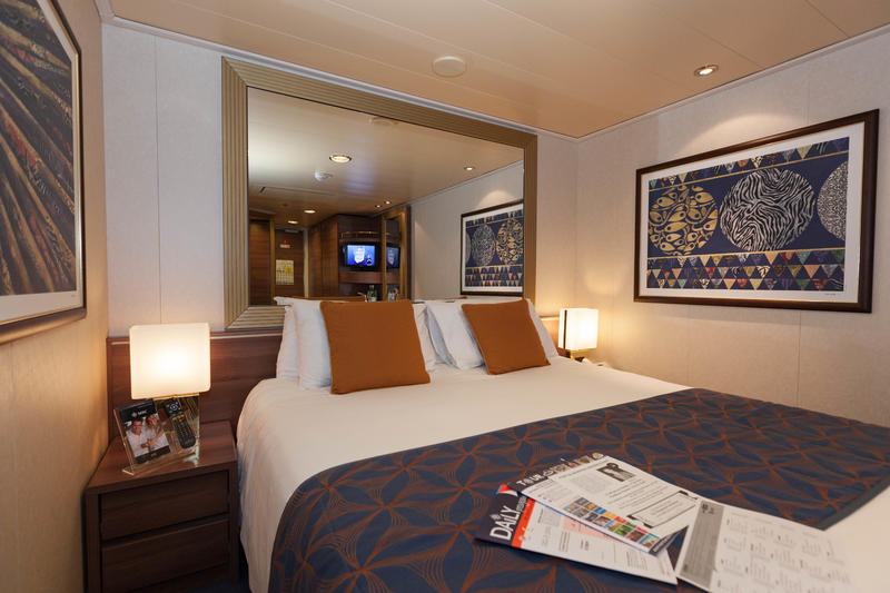 The Interior Cabin on MSC Divina